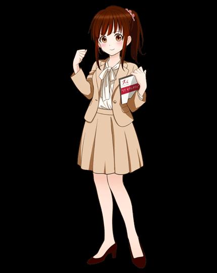 IT Secretary(ITセクレタリィ)のイメージキャラクター「南ちゃん」