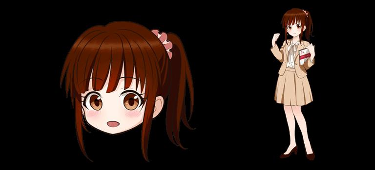 ITセクレタリィのイメージキャラクター「南ちゃん」